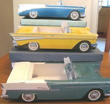 18 ~ Ford & Chevrolet Cardboard Cars Party Kids Food Box Snack Tray  (B)