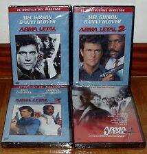 ARMA LETAL-LETHAL WEAPON-CUATRILOGIA COMPLETA-4 DVD-NUEVO-NEW-PRECINTADO-SEALED