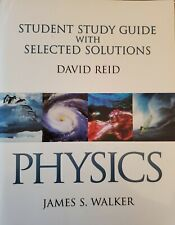 Physics, Student Study Guide by James S. Walker Paperback