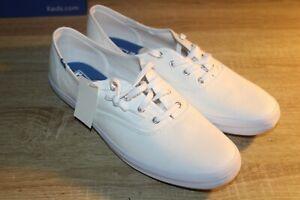 NEW Women's KEDS Champion White Canvas Sneakers Size 11 Dream Foam Comfort