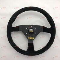 MOMO MOD.78 SUEDE Steering wheel 350mm Black spoke 11111783521L MOD 78