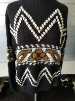 Byblos Italy Alpaca Blend Native Southwestern Sweater Size 1XL
