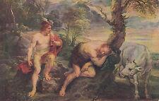 Cartolina artisti-Peter Paul Rubens/Mercurio e Argo