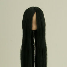 Obitsu Doll 11cm hair implantation head for natural body (11HD-F01NC01) BLK