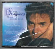 RARE DOUBLE CD / CHRISTIAN DELAGRANGE - SANS TOI JE SUIS SEUL / NEUF SOUS CELLO