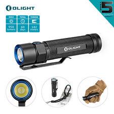 Olight S2 Baton 950 Lumens Tragbar Taschenlampe Cree XM-L2 LED IPX8 Aluminium DE