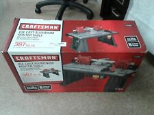 Craftsman Die Cast Aluminum Router Table *27964