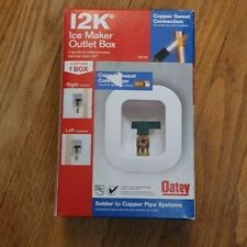 New listing Oatey 12K Ice Maker outlet box 339130 2 options right or left - Free Shipping