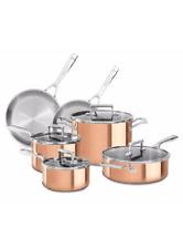 KitchenAid KC2PS10CP, 10-Piece Tri-Ply Satin Copper Cookware Set