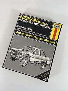 Repair Manual Haynes 771 NISSAN / Datsun Pick-ups / Pathfinder 1980-1993 4WD 2WD