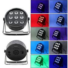 vente chaude 9x10W RGBW LED DJ Par lumière DMX /AUTO effet lumières de la scène