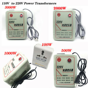 100W 500W 1000W 2000W 3000W 110V to 220V Transformer Step-up transform Converter