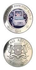 Somalia Pope John Paul II Popemobile 2004 25 Shilling Crown BU
