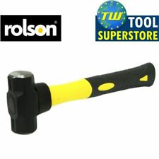 Rolson 450g Mini Sledge Hammer Fibreglass Handle Ideal for Camping Tent Pegs