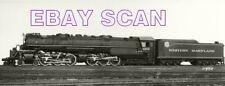 7EE100K RP 1940s/80s? WESTERN MARYLAND RAILROAD 4-6-6-4 ENGINE #1203