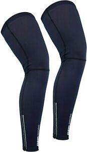 Didoo Cycling Leg Warmers Calf Compression Sleeve Thermal Muscle Fleece Support