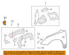 TOYOTA OEM 00-05 Celica Fender-Mount Plate Right 5711320200