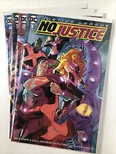 New listing Justice League No Justice #1-4 | Nm+ | Dc Comics 2018 | Snyder | High Grade