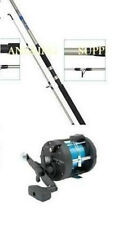 7ft SHAKESPEARE BOAT ROD AND MULTIPLIER REEL WITH LINE