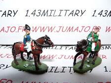 SOLDAT de plomb DEL PRADO 1/50 : AUSTERLITZ Napoléon : lot n°31 2 cavaliers