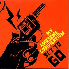 """MY AWESOME COMPILATION - SET TO GO - 7"""" YELLOW VINYL - MINT"""