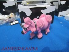 COW PARADE # 9146 FRENCH MOODLE FIGURINE IN BOX WESTMORELAND INDUS
