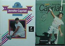 JENNIFER CAPRIATI, 2 BOOKS, 1991 & 1993