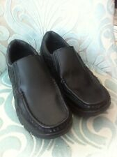 Mens Black Size 9 Leather Shoes By Pod