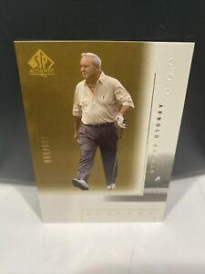 2001 SP Authentic #108 Arnold Palmer GOLD 163/500