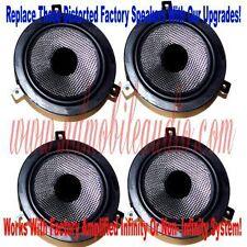 Dodge Durango w/ infinity door speaker replacement  2000 2001 2002 2003