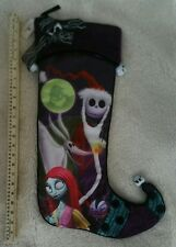 Disney Parks Nightmare Before Christmas JACK SKELLINGTON GIANT Holiday Stocking
