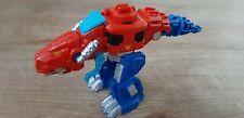 Playskool Transformers Rescue Bots de ~ ~ Optimus Prime T-Rex Dinobot Rojo.