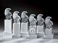 1 Noblesseglas Glaspokal Sieges-Adler 21cm #1 (Wander-Pokal Ehrung Pokal Gravur)
