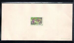 S-Vietnam-Deluxe sheet- Trung sisters on elephant 1959