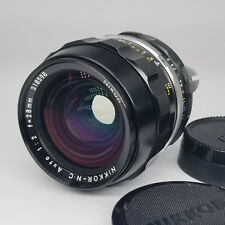 Nikon Nikkor N. C. 28mm F2.0 Pre-Ai multi coated. Excellent condition.