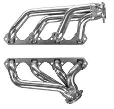 Small Block Ford Mustang Silver Coated Exhaust Headers 302 5.0L GT40P Heads SBF