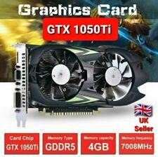 GTX 1050Ti 4GB DDR5 128-bit Gaming Graphics Card with Dual Fan PCI Express 3.0