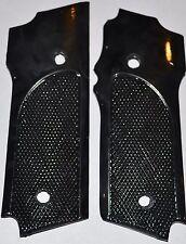 S&W model 59,459,559, pistol grips jet black checkered plastic