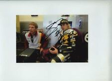 Scott Redding Marc VDS Racing Kalex Moto 2 Portrait 2012 Signed Photograph