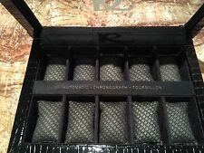RENATO WATCH BOX 10 SLOT COLLECTORS DISPLAY CASE