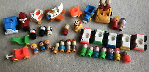 Vintage Fisher Price, Matchbox Toys & 23 Figures