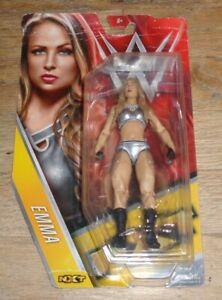 2016 WWE WWF Mattel Emma Tenille Dashwood Diva Wrestling Figure TNA Impact ROH