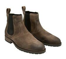 Belstaff Men's Taupe Lancaster Suede Leather Chelsea Boots. Size UK 11 / EU 45