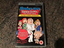 Family Guy, The Stewie Griffin Story Psp Umd! Look In My Shop!!