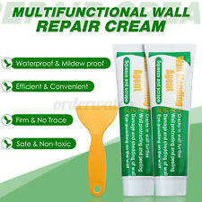 More details for 2pcs wall mending agent 100g safemend wall mending agent wall filler w/scraper