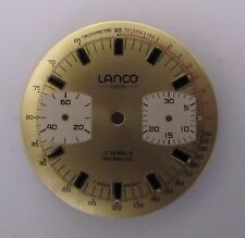 Valjoux 7733 LANCO chronographe dial, NEW OLD STOCK swiss made