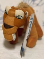 New ICE AGE CONTINENTAL DRIFT DIEGO PLUSH TOY FACTORY Doll Sabertooth Tiger NWT