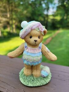 Easter Egg Spring Cherished Teddies ESTHER Abbey Press Exclusive 805580