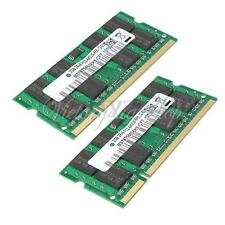 2G 2GB DDR2 800 PC2 6400 800Mhz SODIMM Memory RAM 200 PINS For Laptop Notebook