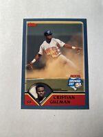 Christian Guzman 2003 Topps Minnesota Twins #85 Base Card